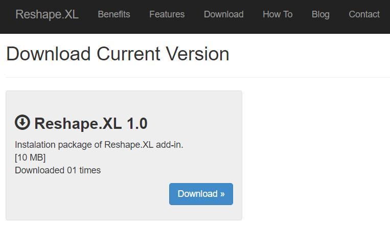 Reshape XL | Before the Start